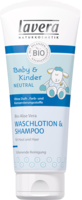 LAVERA Baby & Kinder sensitiv Waschlotion&Shampoo