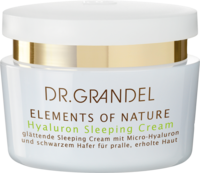 GRANDEL Elements of Nature Hyaluron Sleeping Cream